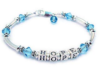 Hope Bracelet for prostate Cancer