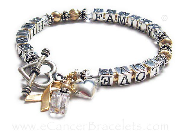 Faith Family Love Bracelet Message Bracelets