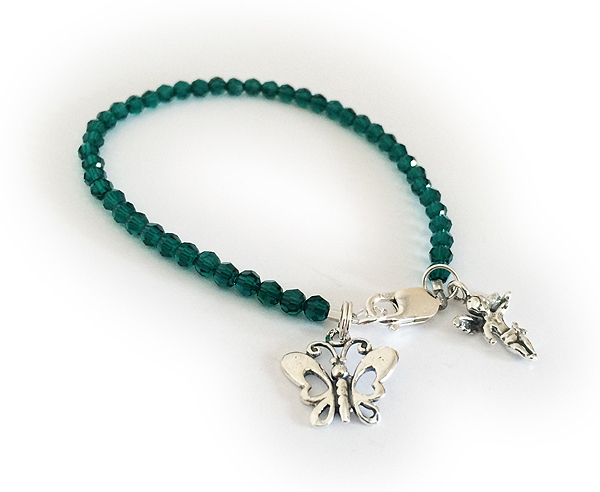 Green Donor Bracelet