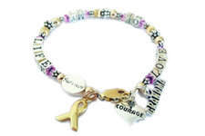 Gold Grandma Breast cancer surivvor bracelet