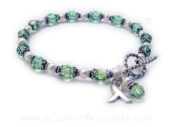 Celiac Disease Ribbon Bracelet