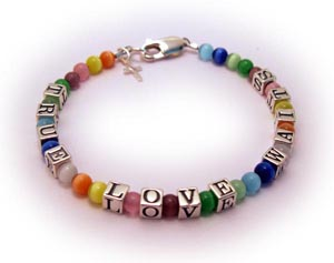 Under His Wings Bracelet - Message Bracelets