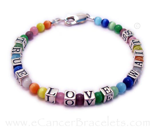 Fight Like a Girl Message Bracelet