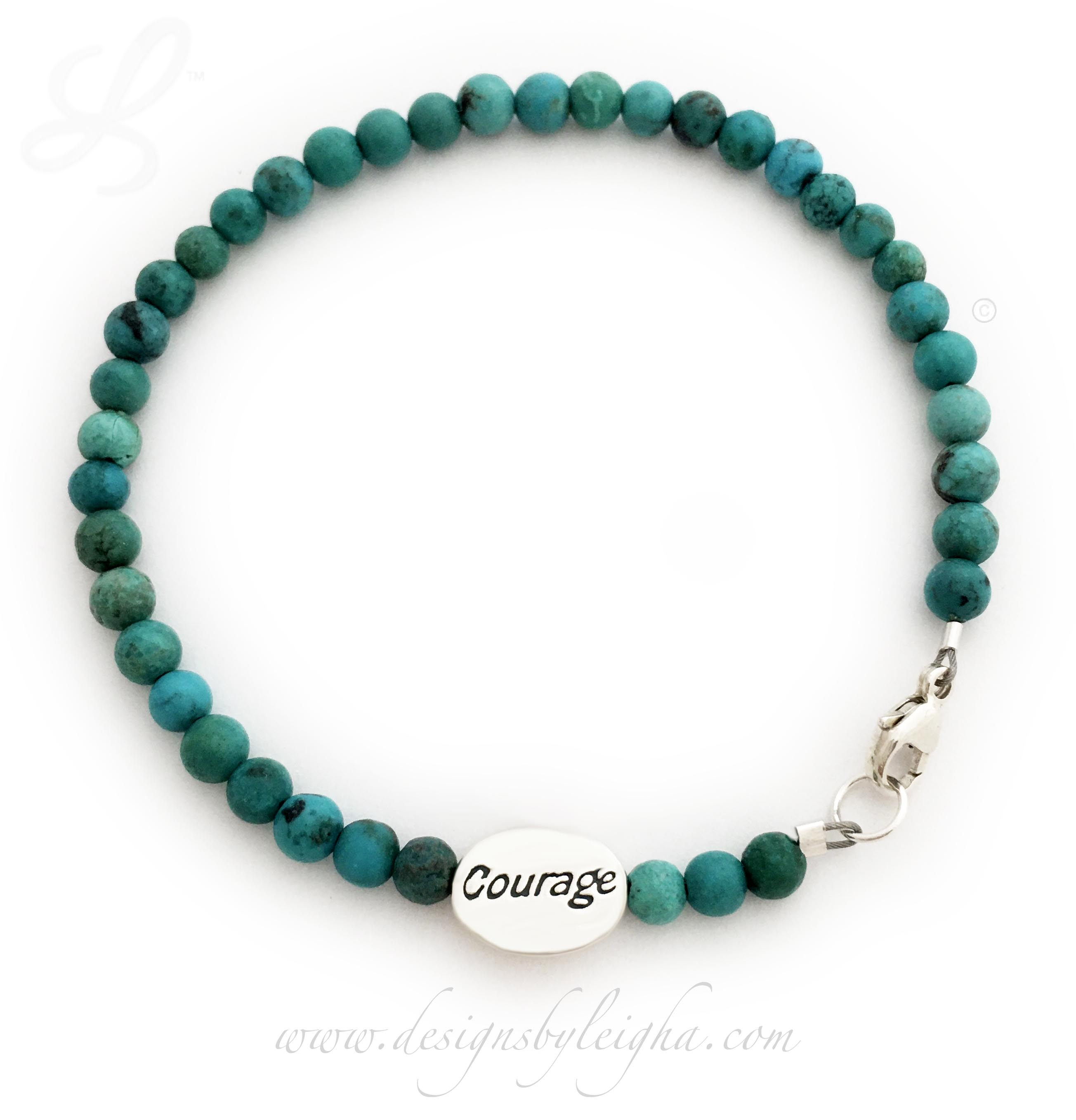 CBB-R60.htm  This is a Turquoise Courage Bracelet. I also have Hope, Survivor and In Memory Beads.