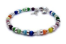 Cat's Eye Colorful All Cancer Bracelet