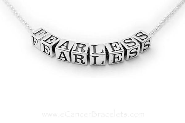 FEARLESS Necklace - Inspirational Necklaces